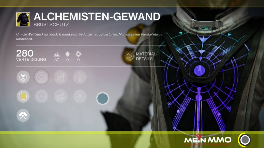 Destiny-Alchemisten-Gewand