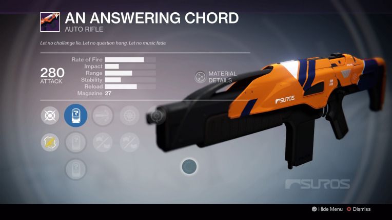 Destiny-Antwort-Akkord