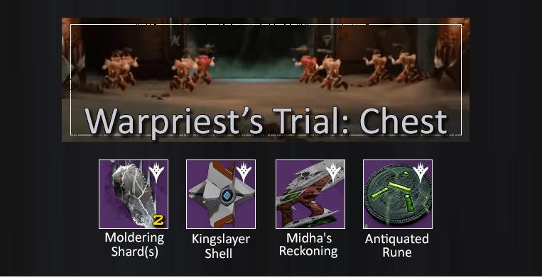 Destiny-Kriegspriester-Trial