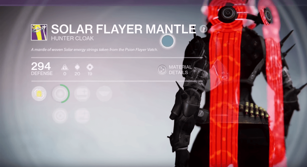Destiny-Solar-Flayer-Mantle