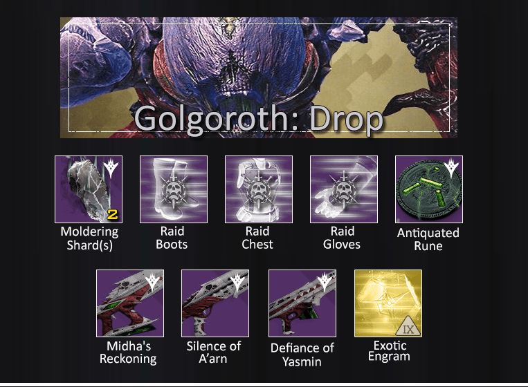 Golgoroth-Drop