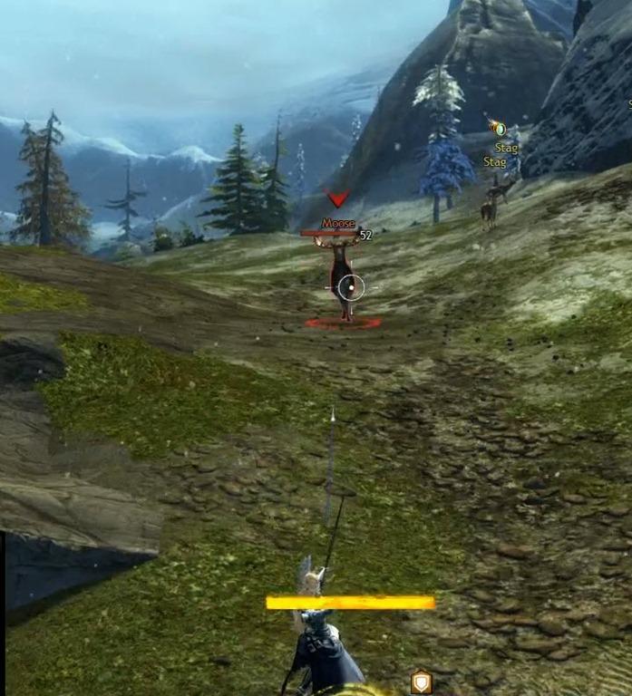 Guild Wars 2 Action Kamera Fadenkreuz