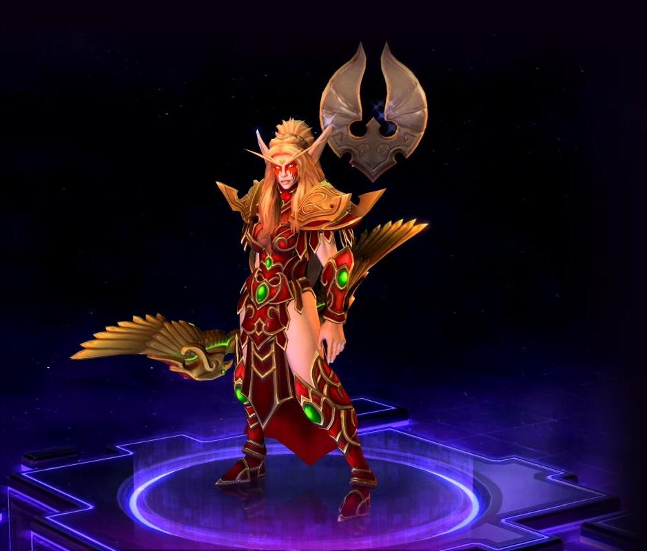 Hots blood elf Tyrande