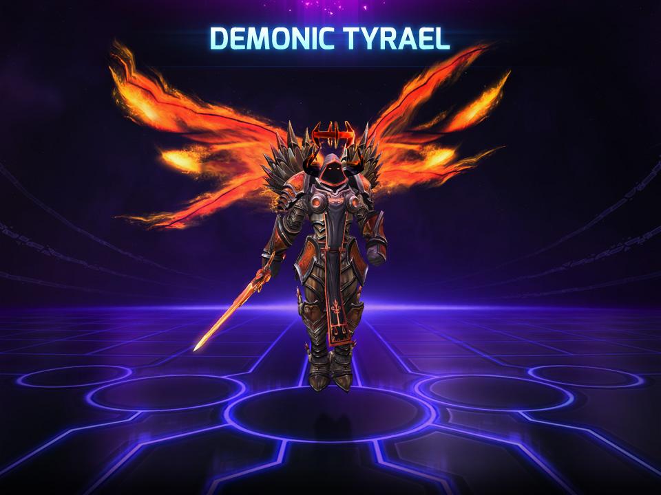 Hots demonic tyrael