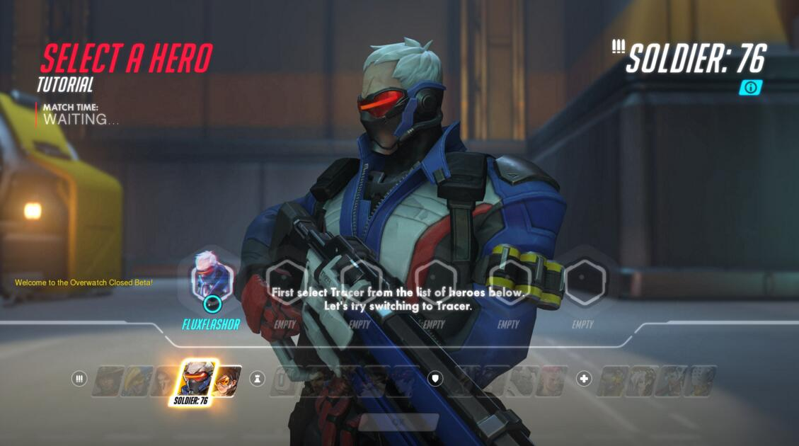 Overwatch Soldier tutorial