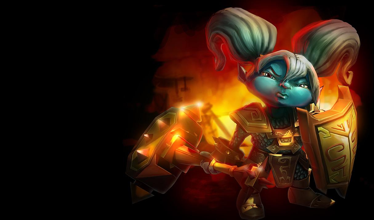 League Of Legends Poppy Wallpaper: Warum Dauert Es So Lange, Sie Zu