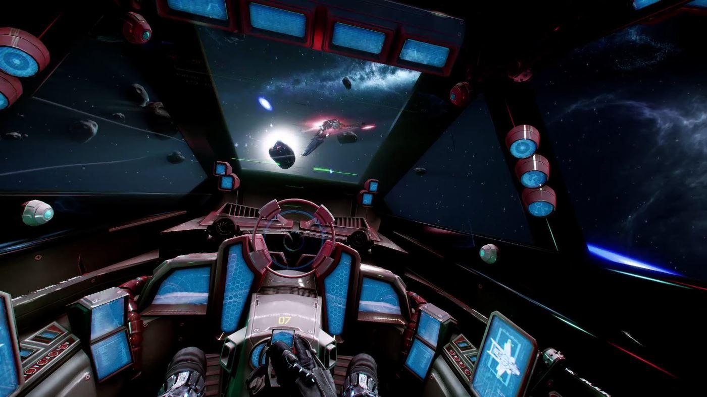 Star Citizen Innenansicht Cockpit