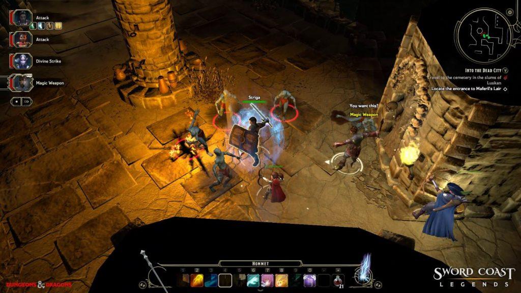 Sword Coast Legends Party Dungeon