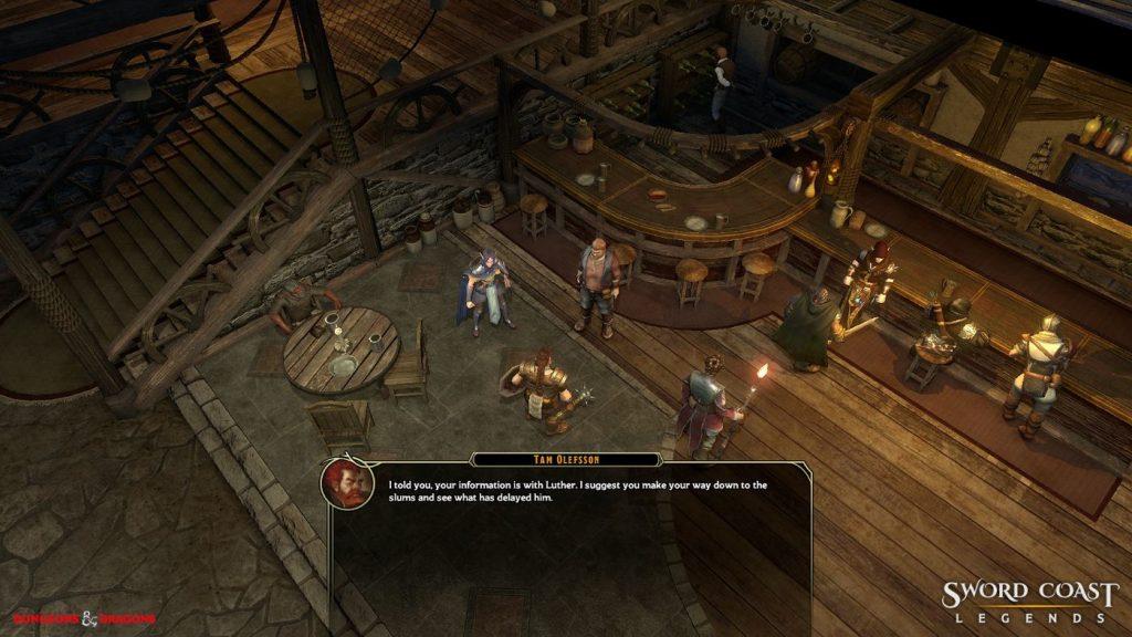 Sword Coast Legends Quest Dialog