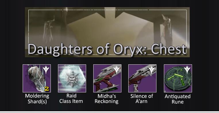 Töchter-Oryx