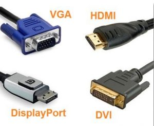VGA HDMI DVI Display