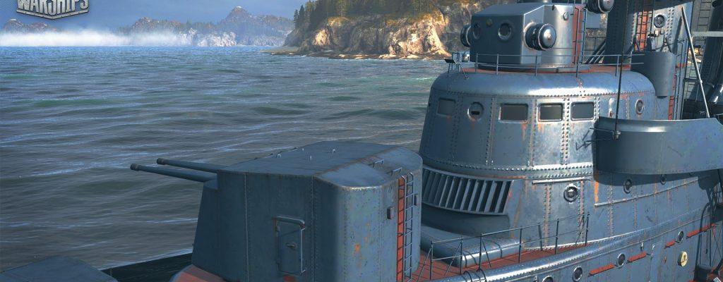 World of Warships: Schaut Euch die russischen und deutschen Schiffe an, die am 19.10. kommen
