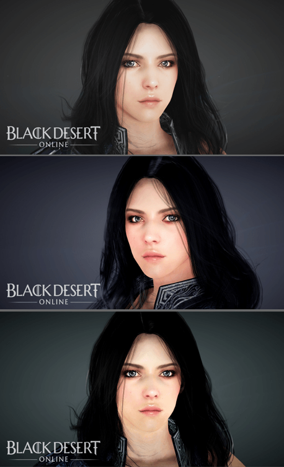 Black Desert Sorceress New Face template