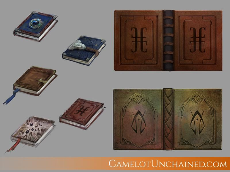 Camelot Unchained Magie Zauberbuch
