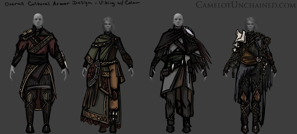 Camelot Unchained Viking Armor