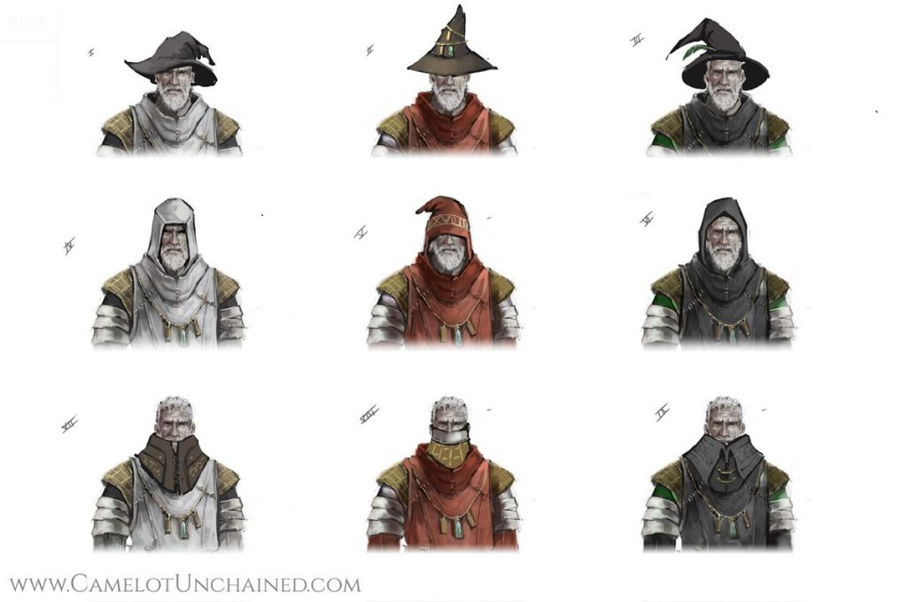 Camelot Unchained Zauberer Hut
