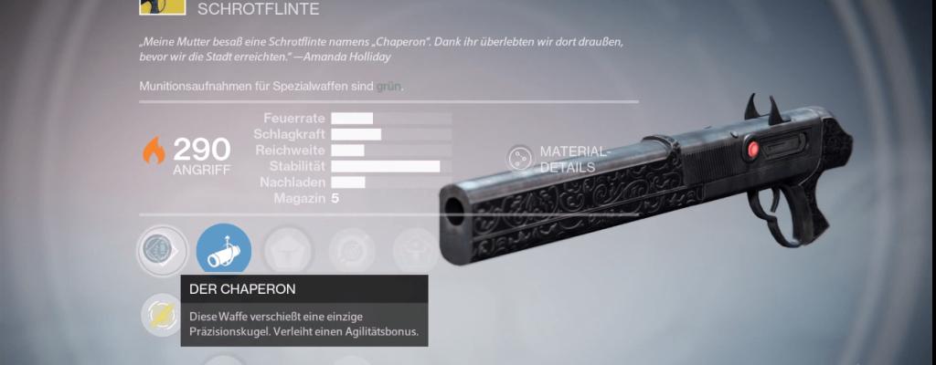 Destiny Guide: So bekommt Ihr Der Chaperon