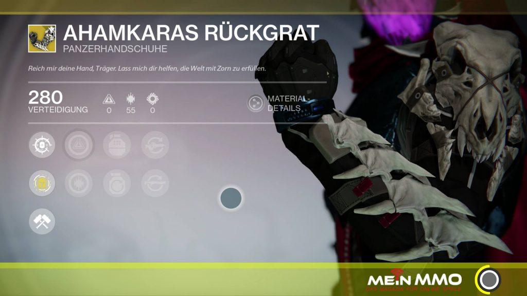 Destiny-Ahamkaras-Rückgrat-Jaeger