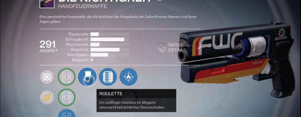 Destiny: Die Nichtigkeit – Schickalsbringer junior?
