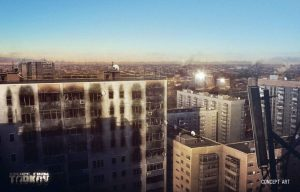 Escape from Tarkov Stadt Concept