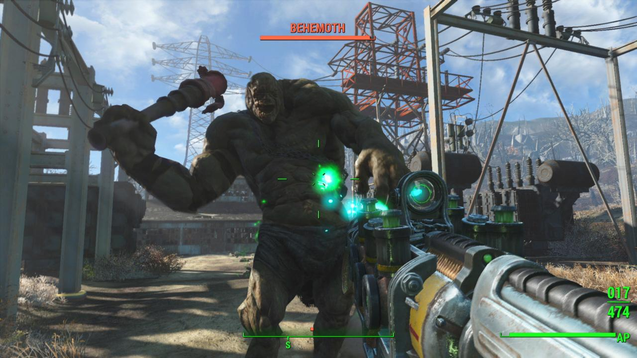Fallout 4 Action Kampfsystem