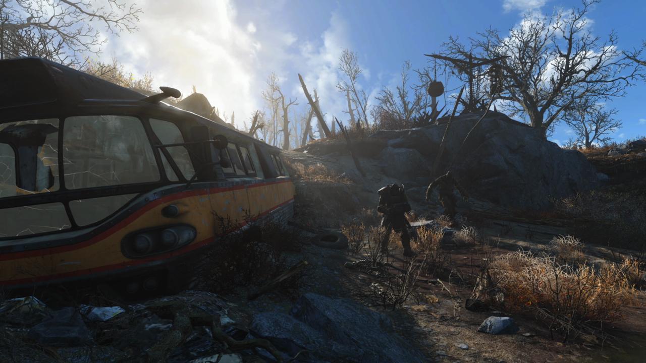 Fallout 4 Grafik Umgebung