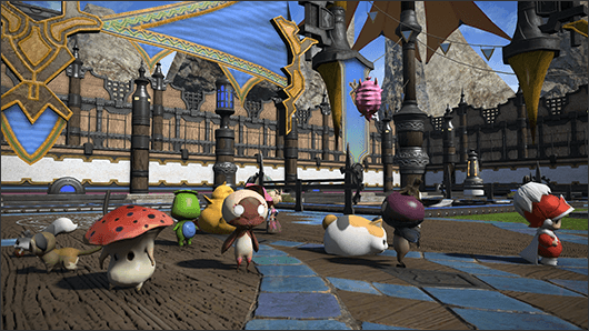 Final Fantasy XIV: Pokémon-Variante Kampf der Trabanten kommt mit 3.1.