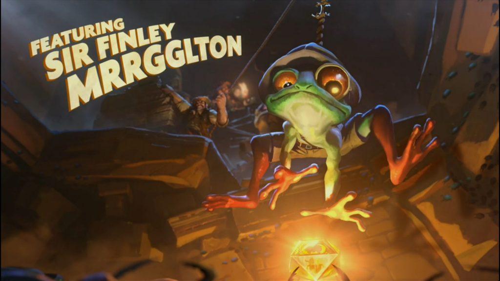 Der Gentlemurloc Sir Finley Mrrgglton steht Euch tapfer zur Seite.