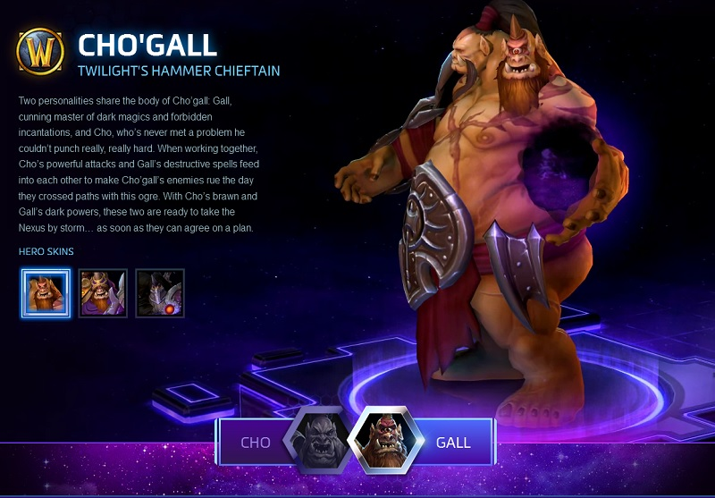 Hots Chogall Overview