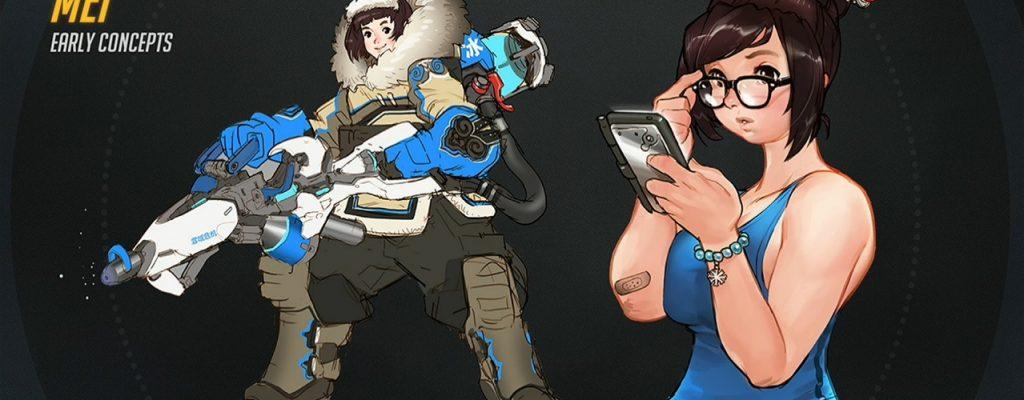Overwatch: Das können die drei neuen Helden Mei, D.Va und Genji