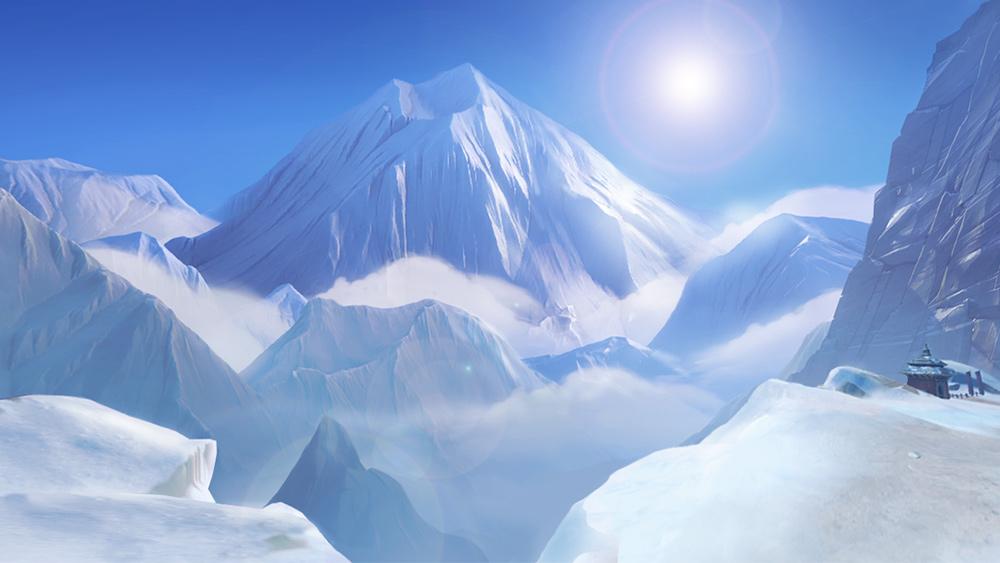 Overwatch Mei Frozen Landscape
