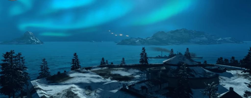 """World of Warships: Patch bringt Feuerlande, Aurora Borealis und frischen Modus """"Zone"""""""