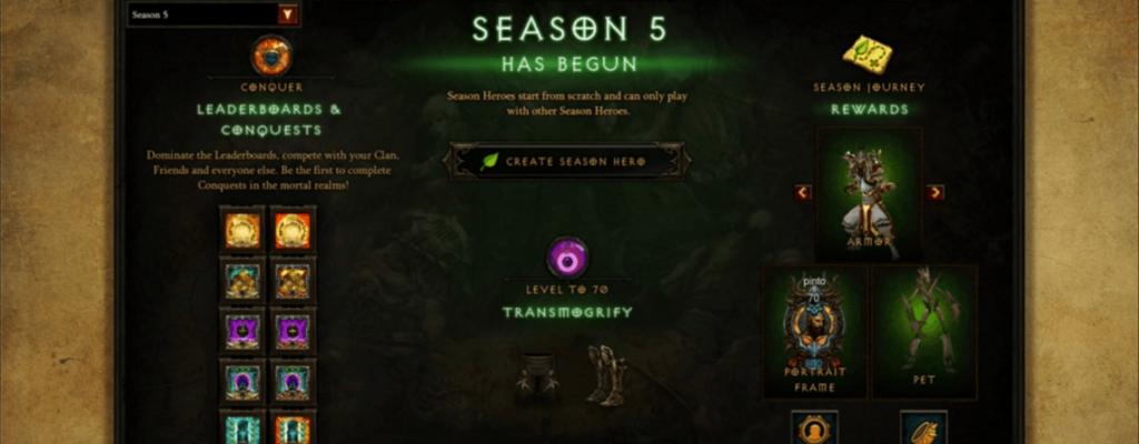 Diablo 3: Wann endet die Season 4, wann beginnt die Season 5?