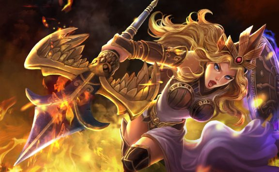 Smite Athena huge