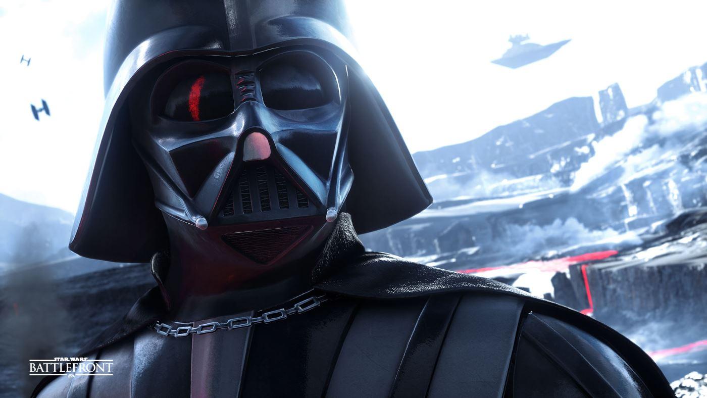 Star Wars Battlefront Darth Vader Held
