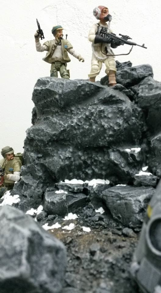 Star Wars Battlefront Diorama 2