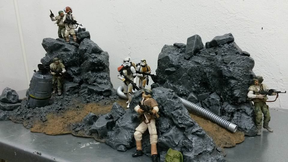 Star Wars Battlefront Diorama Drop Zone 2