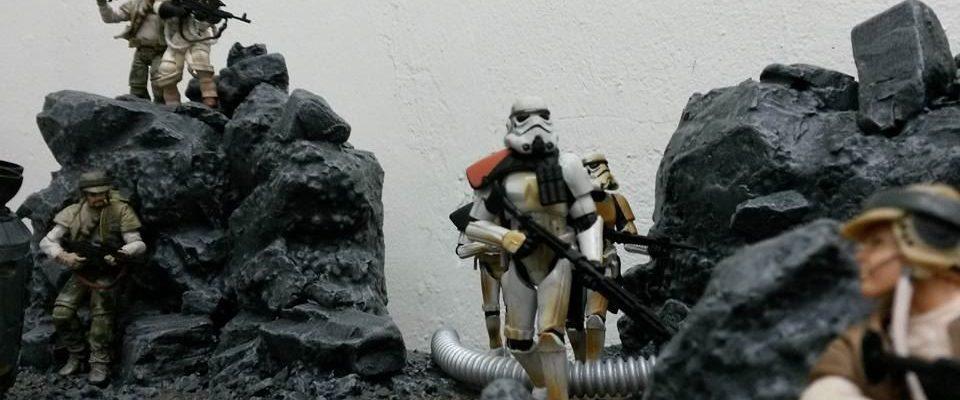 Star Wars Battlefront Fan Erstellt Fantastisches Diorama