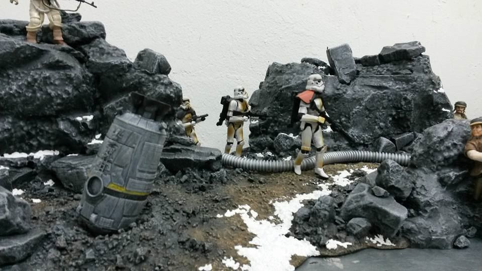 Star Wars Battlefront Diorama Stormtrooper
