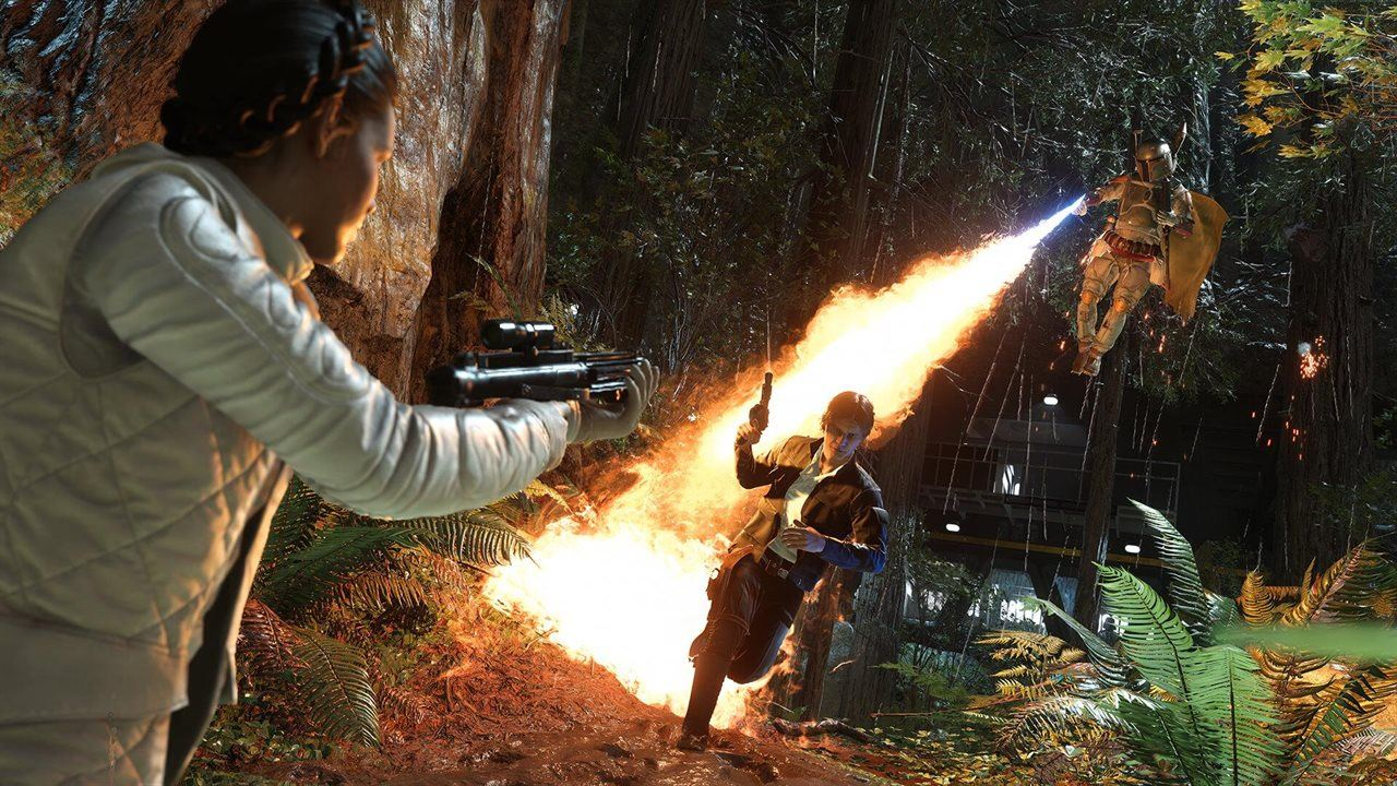 Star Wars Battlefront Test