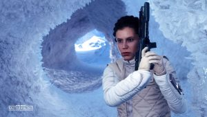 Star Wars Battlefront Leia