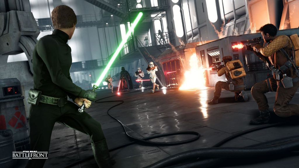 Star Wars Battlefront Luke Held