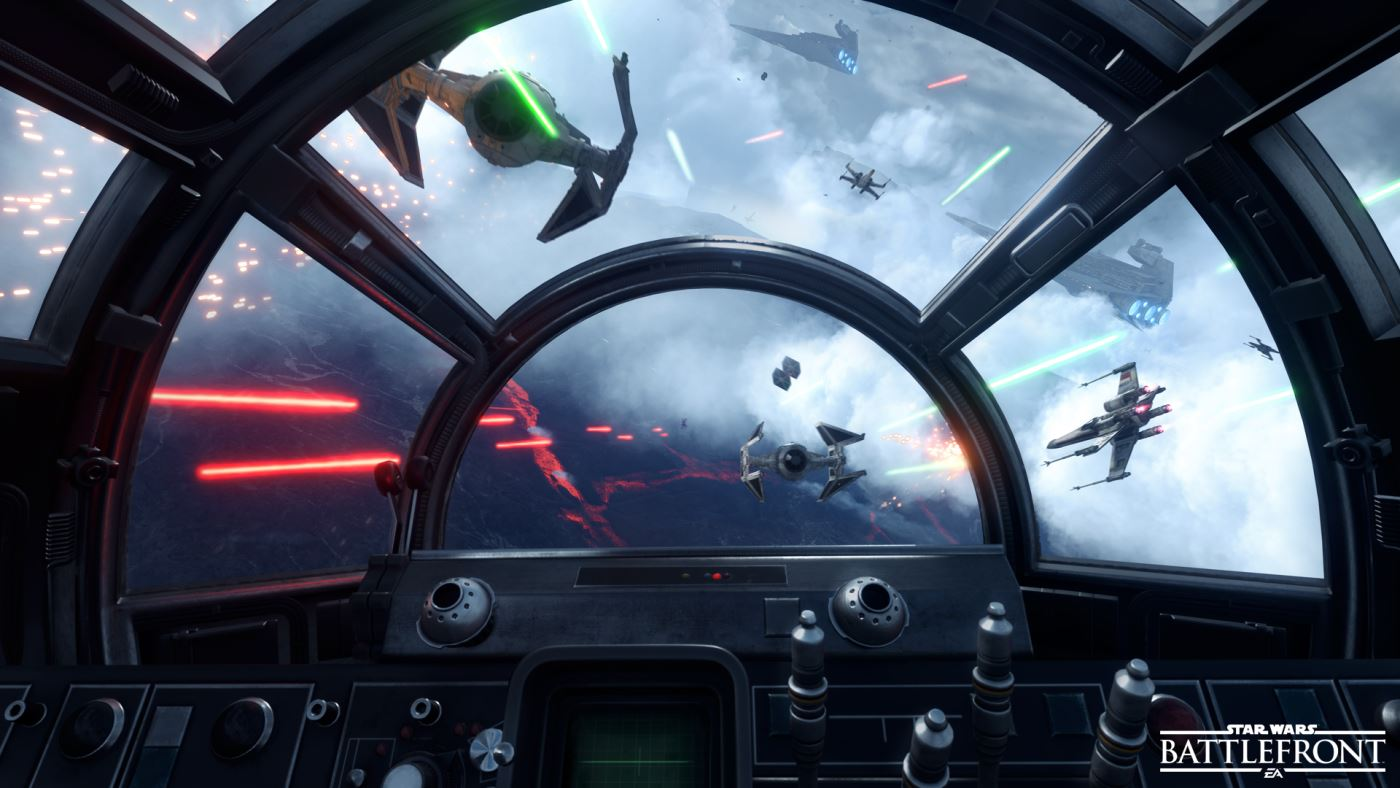 Star Wars Battlefront Raumschlachten
