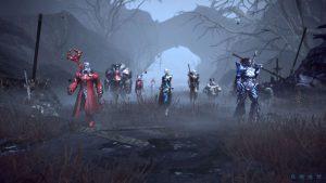 Der neue TERA Charakter-Bildschirm für killer.klaus und seine Freunde.
