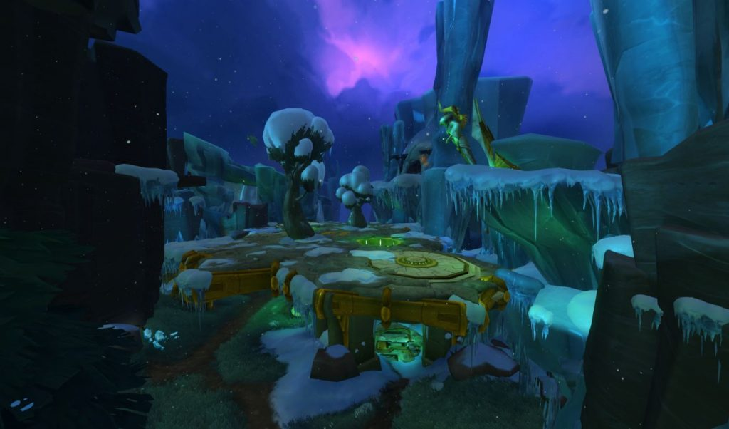 WildStar-Cryoplex-Arena Map