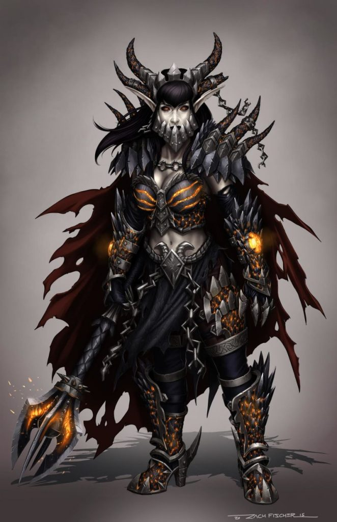 WoW Deathwing Female by Zach Fischer