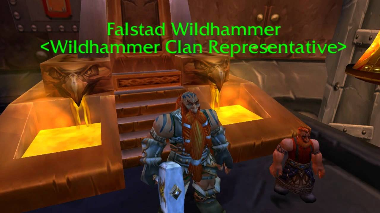 Wow Dwarf Falstad