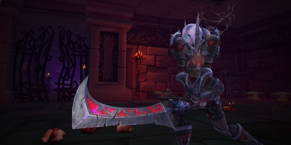 WoW Legion Deathknight blood