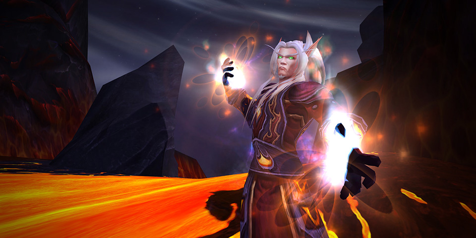 WoW Legion Mage Fire