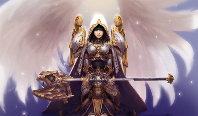 WoW Legion Priest Artwork
